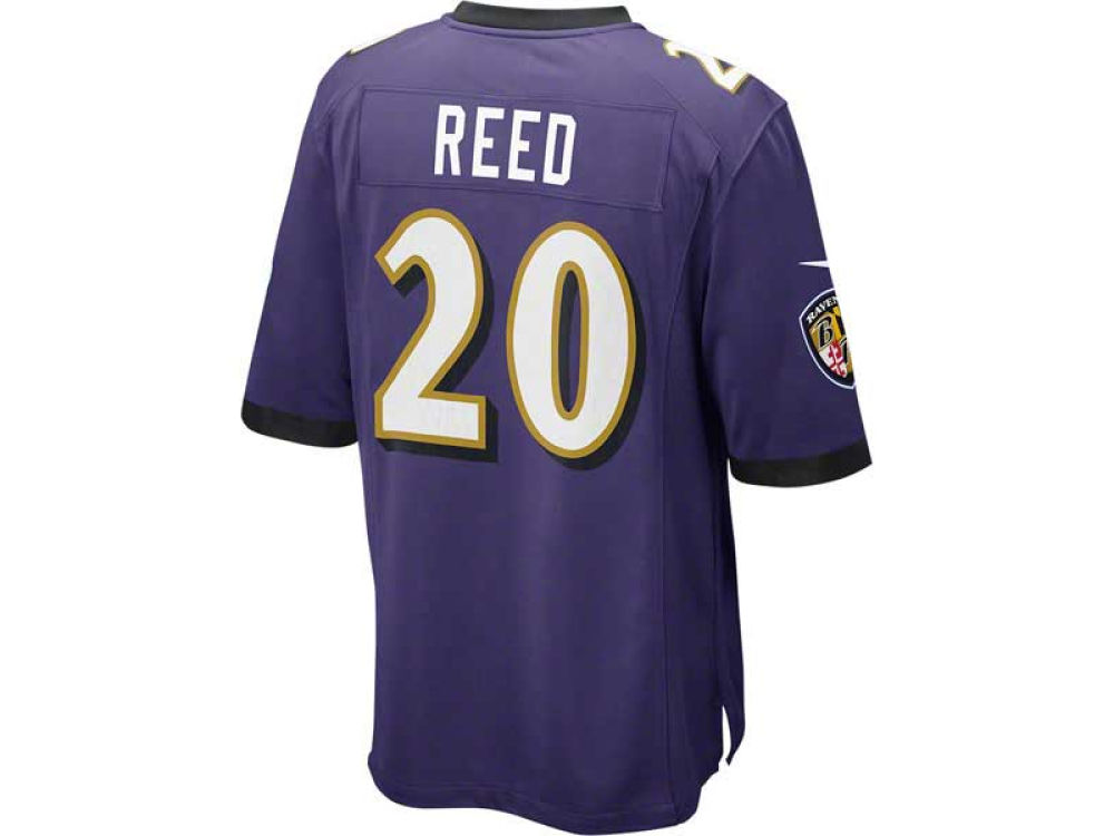 Baltimore Ravens Ed Reed Nike NFL Super Bowl XLVII Game Jersey ... 281e2b0d3