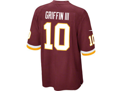 Washington Redskins Robert Griffin III Nike NFL Men's Game Jersey