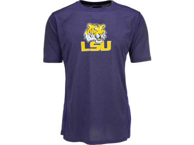 LSU Tigers NCAA Uprights Poly T-Shirt