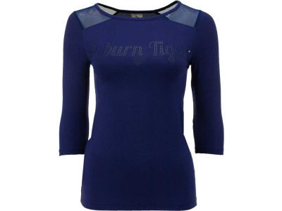 Auburn Tigers NCAA Womens Mesh Yoke Top