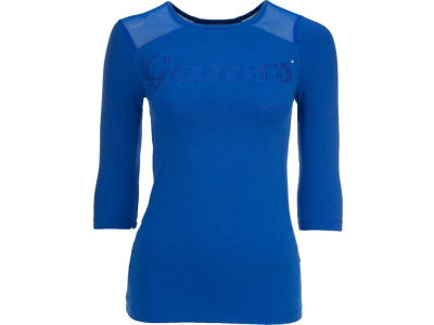 Florida Gators NCAA Womens Mesh Yoke Top