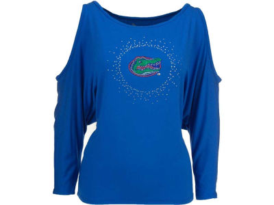 Florida Gators NCAA Womens Cut Away Shoulder Top