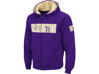 Washington Huskies NCAA Block Fullzip Hoodie