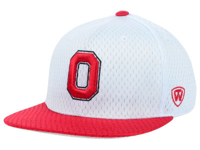 Ohio State Buckeyes Top of the World NCAA Mesh Slam One-Fit Cap