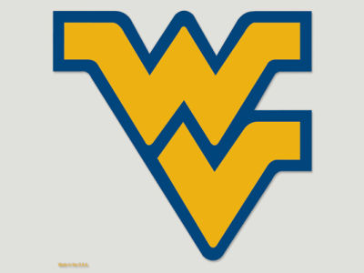 West Virginia Mountaineers Die Cut Color Decal 8in X 8in