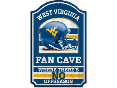 West Virginia Mountaineers 11x17 Wood Sign