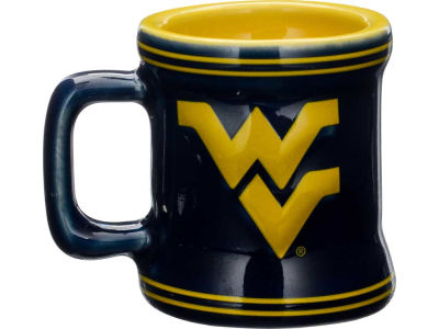 West Virginia Mountaineers 2oz Mini Mug Shot