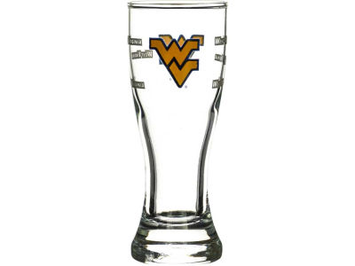 West Virginia Mountaineers Satin Etch Mini Pilsner