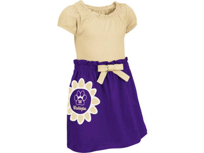 Washington Huskies NCAA Toddler Daisy Dress