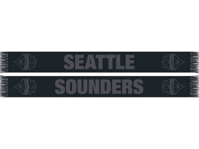 Seattle Sounders FC MLS Blackout Scarf