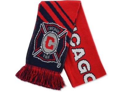 Chicago Fire MLS Slant Stripe Scarf
