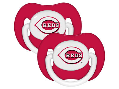 Cincinnati Reds 2-pack Pacifier Set