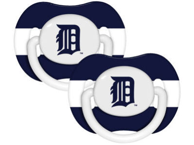 Detroit Tigers 2-pack Pacifier Set
