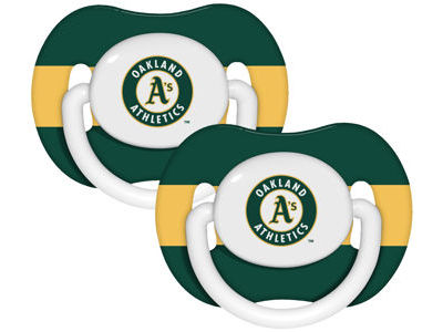 Oakland Athletics 2-pack Pacifier Set
