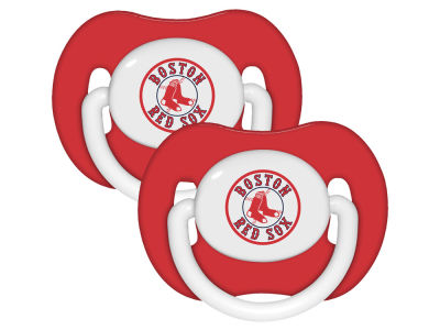 Boston Red Sox 2-pack Pacifier Set