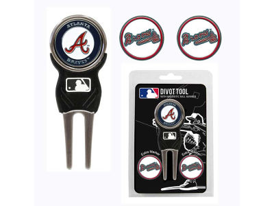Atlanta Braves Divot Tool and Markers