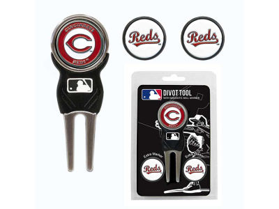 Cincinnati Reds Divot Tool and Markers