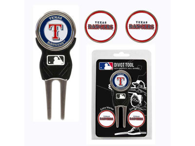 Texas Rangers Divot Tool and Markers
