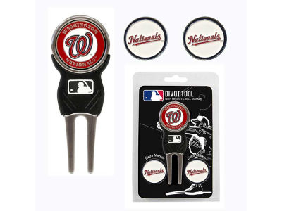 Washington Nationals Divot Tool and Markers
