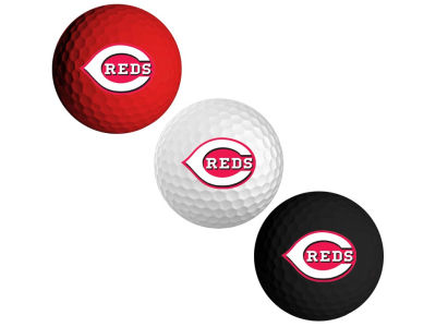 Cincinnati Reds 3-pack Golf Ball Set