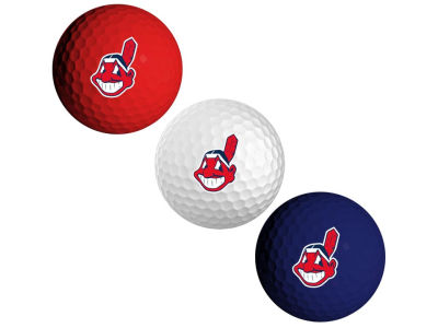 Cleveland Indians 3-pack Golf Ball Set