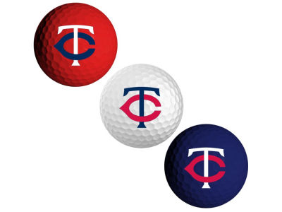 Minnesota Twins 3-pack Golf Ball Set