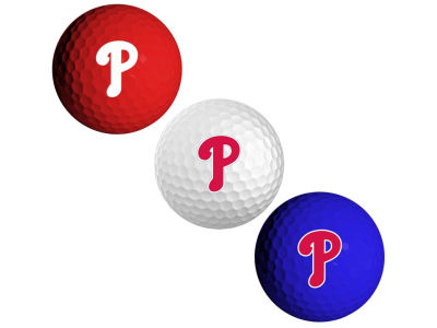 Philadelphia Phillies 3-pack Golf Ball Set