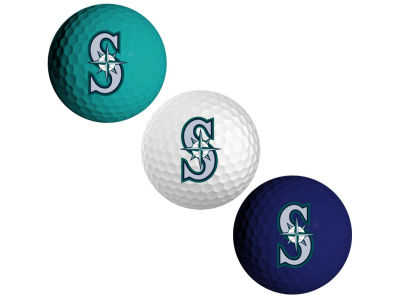 Seattle Mariners 3-pack Golf Ball Set