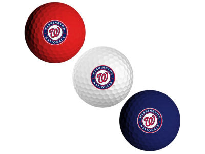 Washington Nationals 3-pack Golf Ball Set