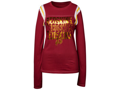 Washington Redskins NFL Womens Baby Jersey Long Sleeve Crewneck