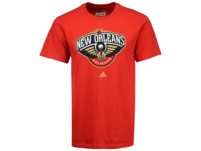 New Orleans Pelicans adidas NBA Primary Logo T-Shirt