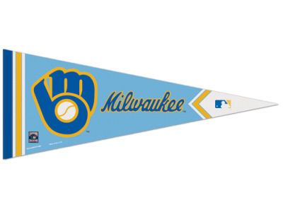 Milwaukee Brewers 12x30 Premium Pennant