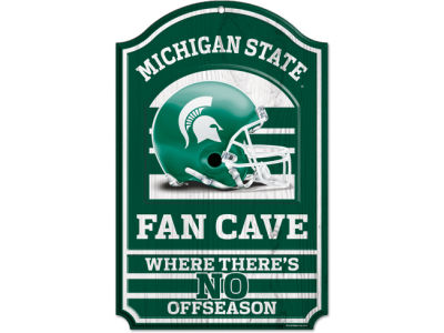 Michigan State Spartans 11x17 Wood Sign