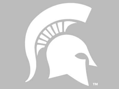 "Michigan State Spartans Die Cut Decal 8""x8"""