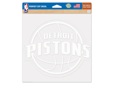 "Detroit Pistons Die Cut Decal 8""x8"""