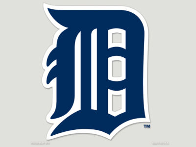 Detroit Tigers Die Cut Color Decal 8in X 8in