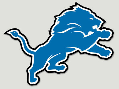 Detroit Lions Die Cut Color Decal 8in X 8in