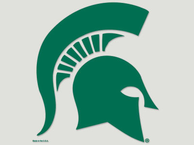 Michigan State Spartans Die Cut Color Decal 8in X 8in