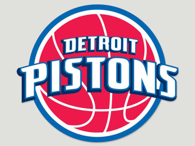 Detroit Pistons Die Cut Color Decal 8in X 8in