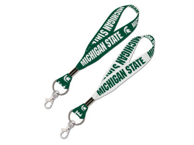 Michigan State Spartans Lanyard Key Strap