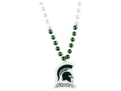 Michigan State Spartans Team Logo Beads-Rico