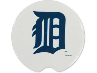 Detroit Tigers 2 Pack Car Coasters