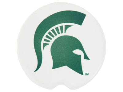 Michigan State Spartans 2 Pack Car Coasters