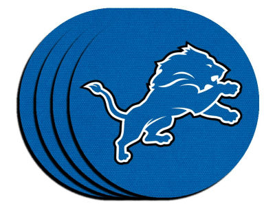 Detroit Lions 4-pack Neoprene Coaster Set
