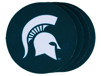 Michigan State Spartans 4-pack Neoprene Coaster Set