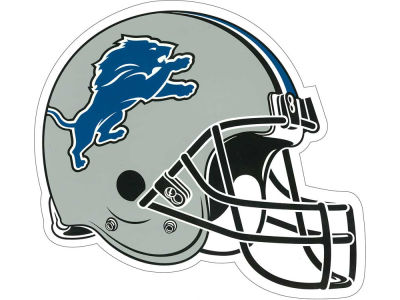 Detroit Lions 8in Car Magnet