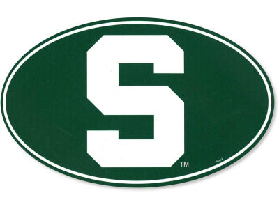 Michigan State Spartans 8in Car Magnet