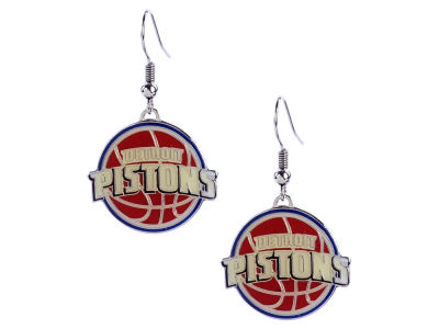Detroit Pistons Aminco Logo Earrings