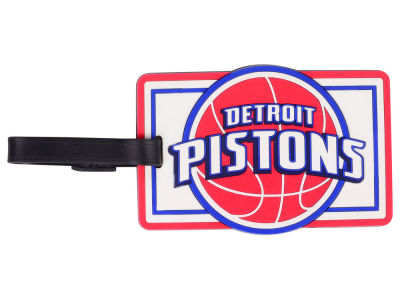 Detroit Pistons Soft Bag Tag