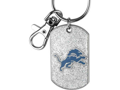 Detroit Lions Glitter Key Ring